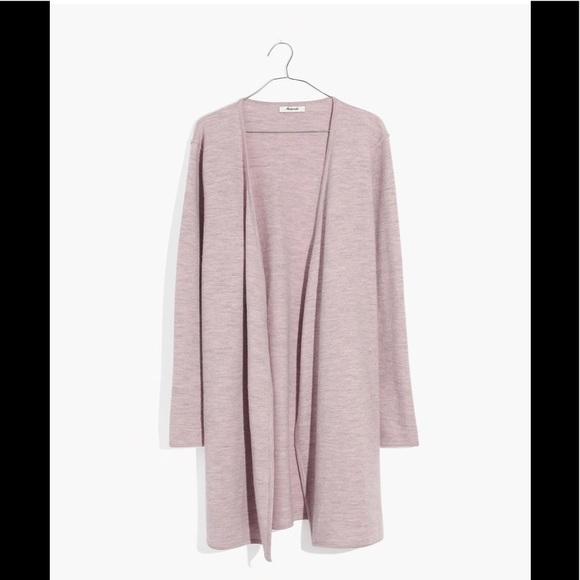 Madewell Sweaters - madewell lombard sweater coat XS BNWT